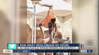 Run Away with Cirque Du Soleil