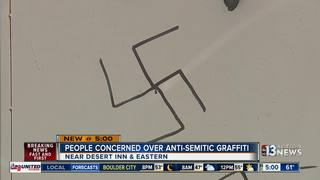 March planned after anti-Semitic graffiti found
