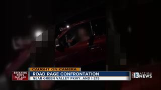 CAUGHT ON CAMERA: Heated road rage argument