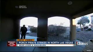 CAUGHT ON CAMERA: North Las Vegas package theft