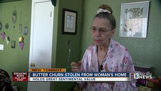 NLV woman desperate to find stolen butter churn