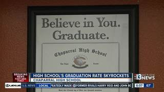 Chaparral's graduation rate rises dramatically