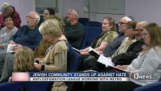 Jewish community stands up to hate after threats