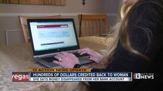 UPDATE: Money credited back to woman's account