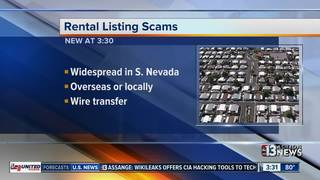 Rental scam warning for Southern Nevada