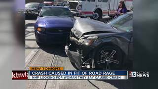 NHP looking for suspect in road rage hit and run