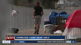 Apartment residents worried about homeless camp