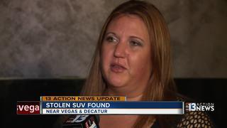 UPDATE: Stolen SUV found, stripped of its parts