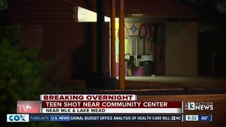 Teen says he was accidentally shot overnight
