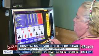 Hospital using video poker machines for rehab