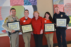 Community volunteers recognized for toy drives