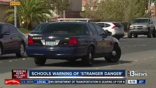 Parents alerted of suspicious woman