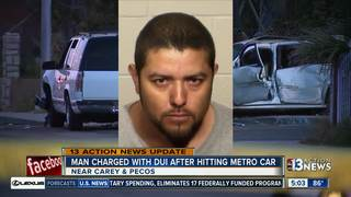 Mug shot of driver who hit police car released