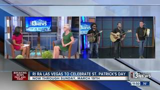 The Crooked Jacks performing at Ri Ra Las Vegas