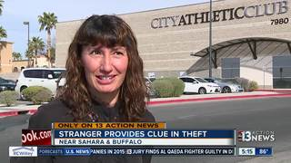 Woman's purse stolen from locked car at gym