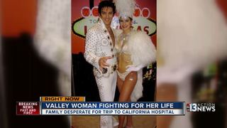 Las Vegas showgirl fighting for her life