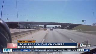 Watch car flip 4 times during road-rage incident
