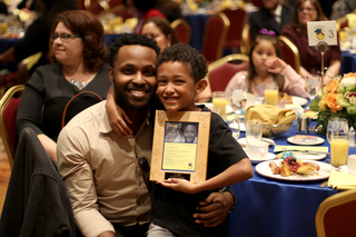Andson honors education leaders during breakfast