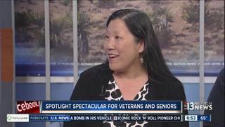 SPOTLIGHT Spectacular honors military veterans