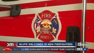 19 NLV firefighters graduate from academy