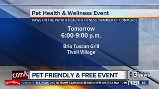 Pet health and wellness event at Tivoli Village
