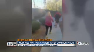 UPDATE: DA will not charge mom with shovel