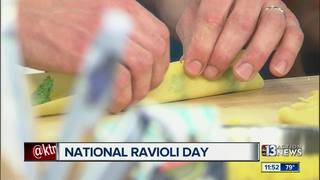 Making your own pasta for National Ravioli Day