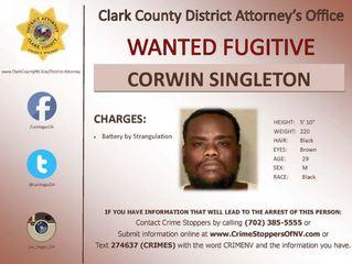 WARRANT WEDNESDAY: Corwin Singleton sought