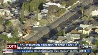 TRAFFIC TROUBLES: Construction in Boulder City