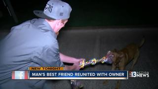 VEGAS CARES: Community helps man find dog