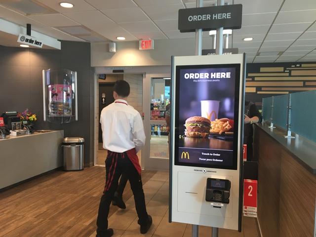 Self-order McDonald's kiosks now in Las Vegas