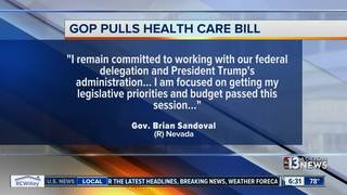 NV responses to health care bill being pulled