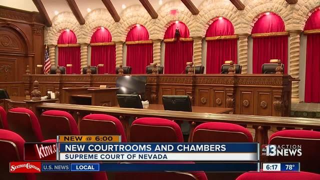 Elegant New Courtrooms, Chambers For Nevada Supreme Court   KTNV.com Las Vegas