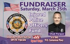 Car washes to benefit Injured Officers Fund