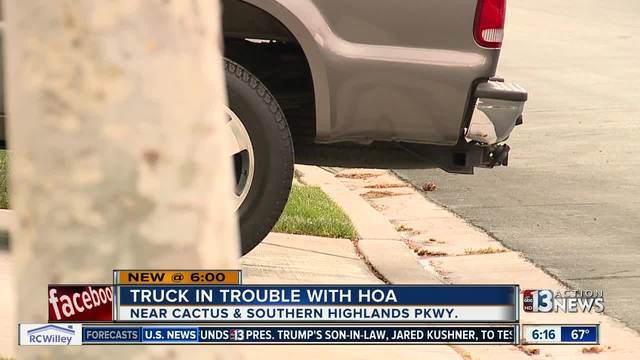 YOU ASK: Truck owner cannot park on street
