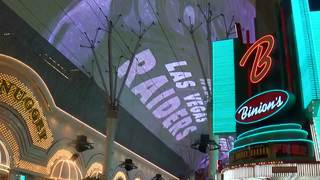 Raiders fans celebrate Vegas announcement