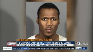 18-year-old arrested for teen's February murder