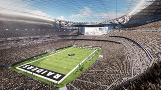 Tax collections for Raiders' stadium down