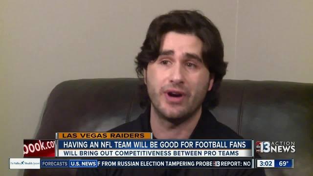 Sports writer: Having NFL team good for fans