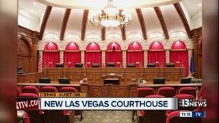 New Nevada Supreme Court building in Vegas