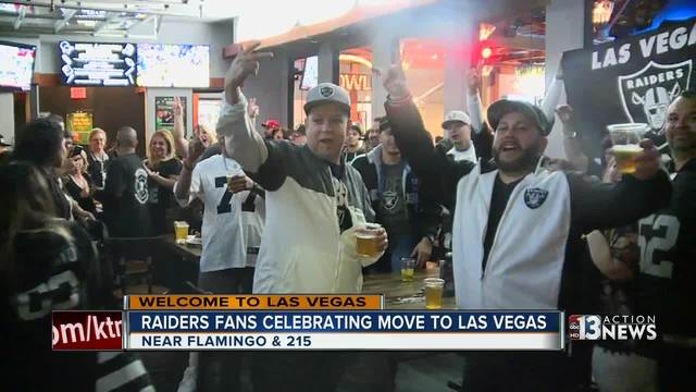 National Football League  owners say yes to the Las Vegas Raiders