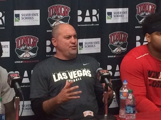 UNLV coach excited to share stadium with Raiders