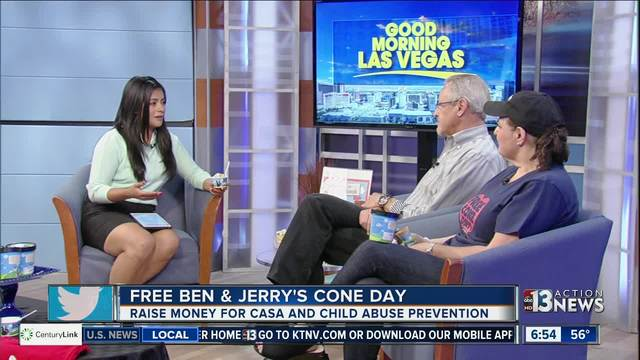 Ben & Jerry's to give away free ice cream cones Tuesday