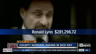 CONTACT 13: Taxpayers charged for sick time