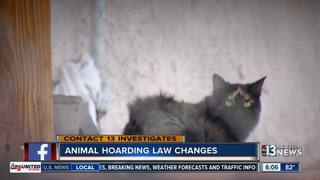 CONTACT 13: Bill would address animal hoarding