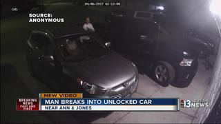 CAUGHT ON CAMERA: Car break-ins near Ann, Jones