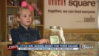 Little girl raises money for Three Square