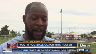 Coach suspended after video shows player slapped