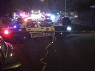 Police car hits, kills pedestrian on Boulder Hwy