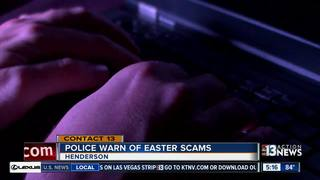 Henderson police warn of Easter scams
